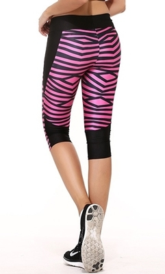 Picture of Cropped leggings - Pink Spice