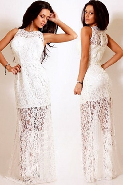 Off White Evening Dresses