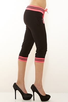 Picture of Drawstring Jogger three quarter - Pink
