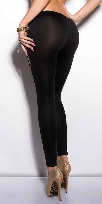 Sexy Koucla Leggings With Studs Online Winter Clothing