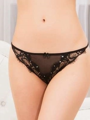 Picture of Black Glamour sparkle bottom