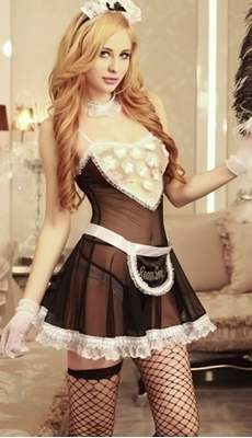Picture of Be my Maid dress up lingerie set