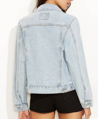 Picture of Bleach Wash Denim Jacket