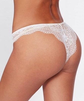 Picture of Brazillian Scalloped Trim Lace Panty