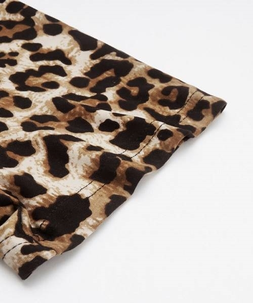 Picture of Leopard Raglan Sleeve T-Shirt