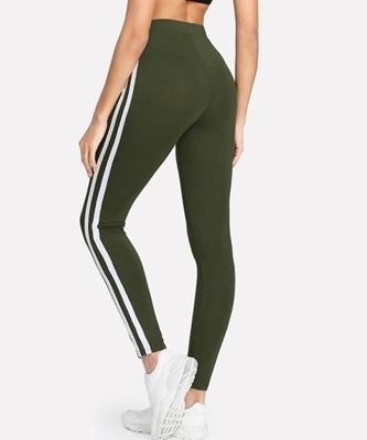 Picture of Contrast Tape Side Thin Leggings