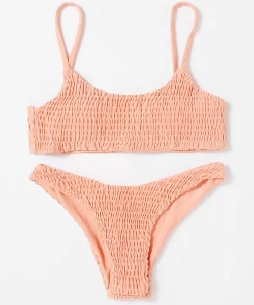 Picture of Ruched Cami Cheeky Bikini Set