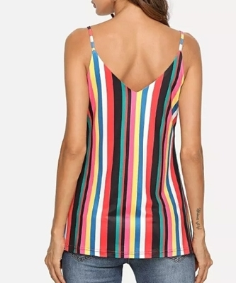 Picture of Colorful Striped Cami Top