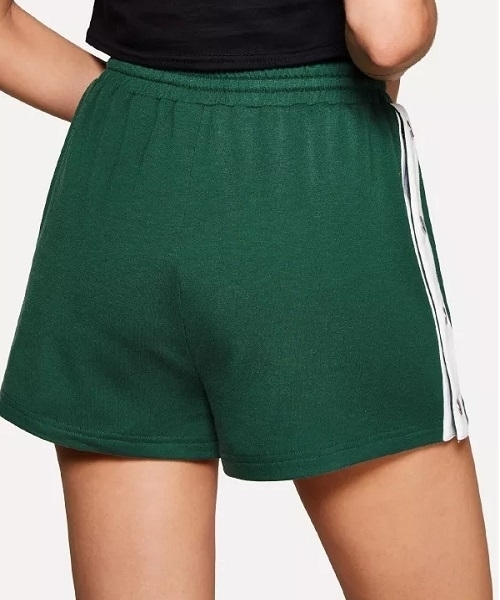 Picture of Buttoned Contrast Side Drawstring Sporty Shorts