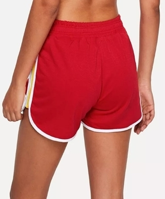Picture of Striped Side Dolphin Sporty Shorts