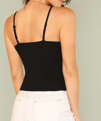 Picture of Rib Knit Cami Crop Top