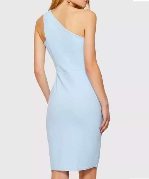 Picture of One Shoulder Side Slit Occasion Dress