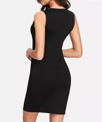Picture of Crisscross Front Bodycon Dress