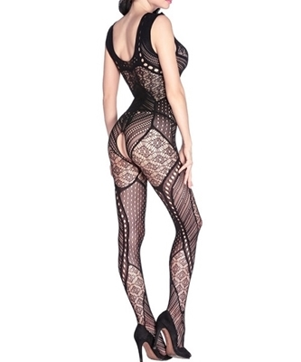 Picture of Hollow Out Detail Sexy Body Stocking