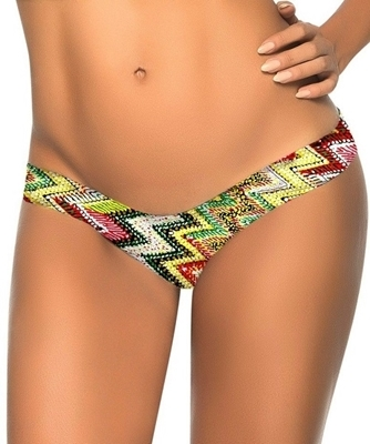 Picture of Brazilian G-String - Zigzag Multi