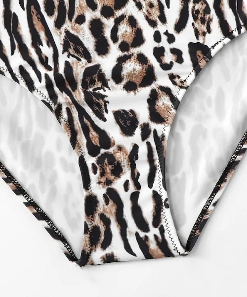 Picture of Leopard Print One Piece Swimsuit