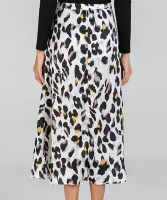 Picture of Leopard Print Waist Knot Skirt