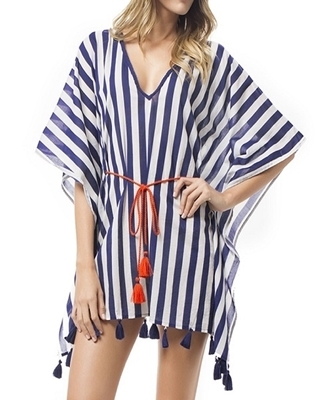 Picture of Dolman Chiffon Loose Beach Dress