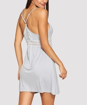 Picture of Contrast Lace Cami Babydoll