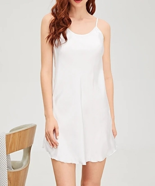Picture of Plain Satin Feel Babydoll