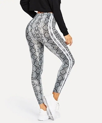 Picture of Snake Skin Print Leggings
