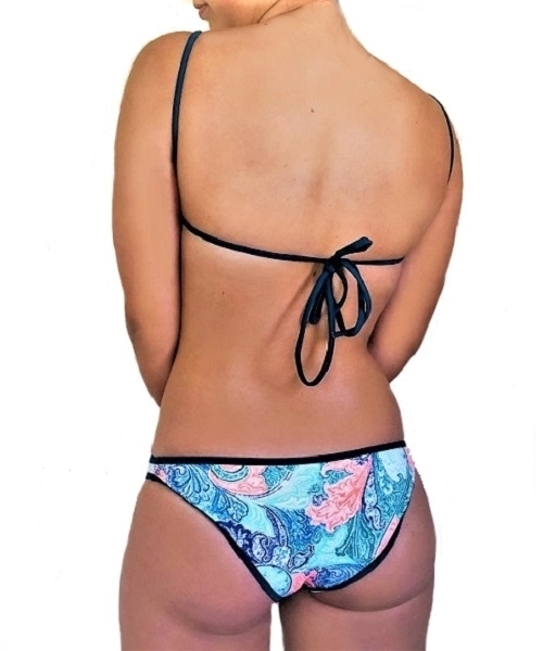 Picture of Cut out Paisley Swimsuit