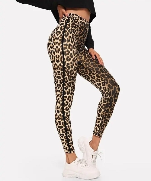 Picture of High Waist Leopard Print Leggings