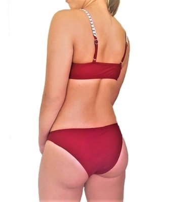 Picture of Front Crotchet Trim Bikini Set