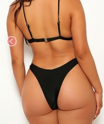 Picture of Hipster Cheeky Bottom- Black