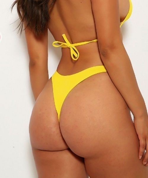 Picture of Hipster Cheeky Bottom- Yellow