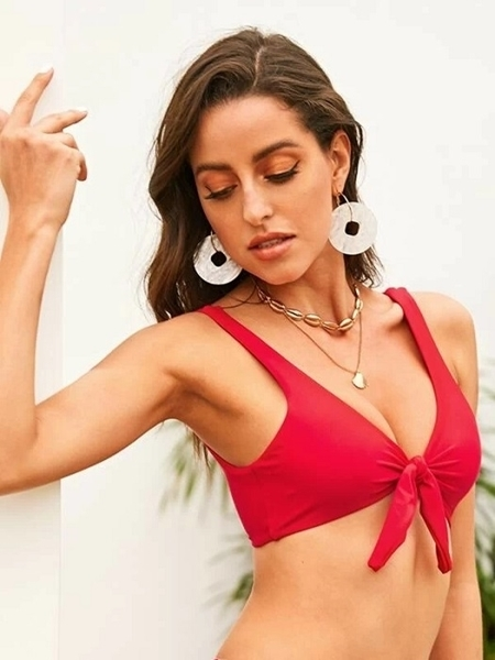 Picture of Knot Front Bikini Top
