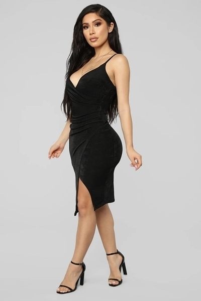 Picture of High Points Midi Cocktail Dress