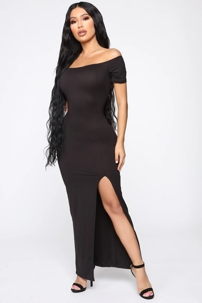 Picture of Off Shoulder Anywhere Long Dress