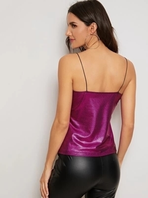 Picture of Glamour Metallic Cami Top