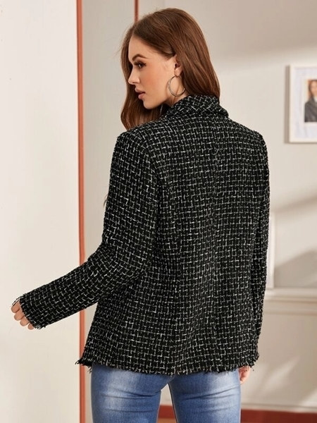 Picture of Double Breasted Tweed Blazer