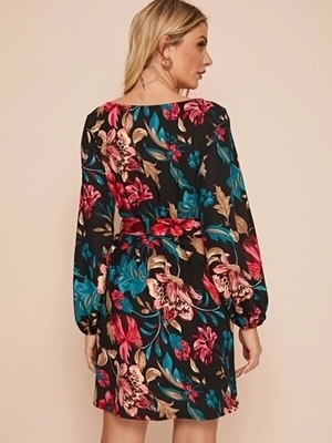 Floral Dresses Women | Long Sleeve Floral Dresses