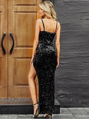 Sequin Bodycon Long  Dresses |  Occasion Dresses Women