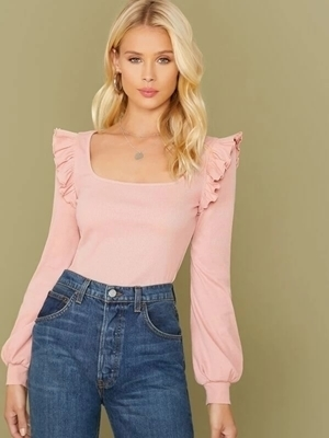 Long Sleeve Tops Woman | Woman Fashion Clothing Online