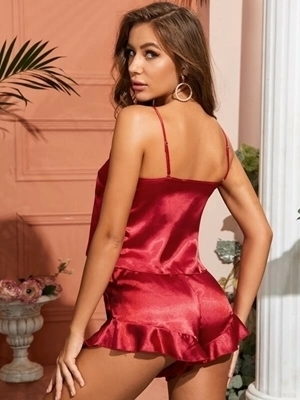 Satin Sleepwear Women