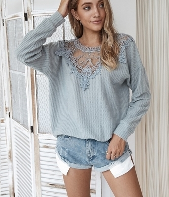 Women Clothing  Shopping | Long Sleeve Tops Sweaters