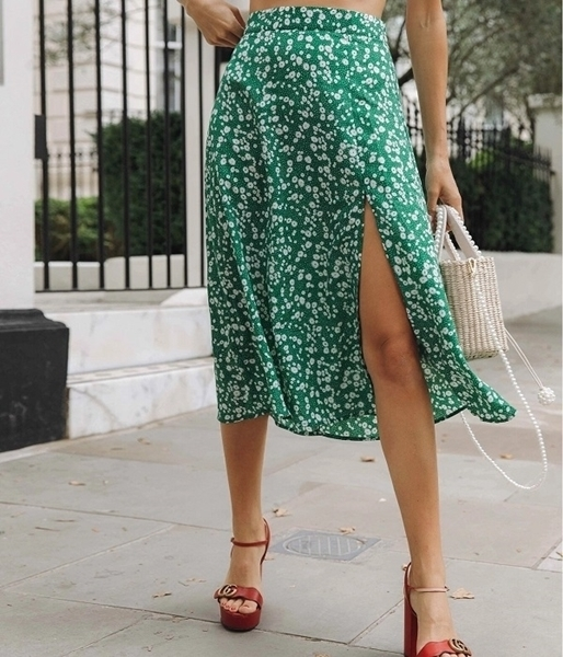 Floral Skirts For Women   Summer floral skirts Women