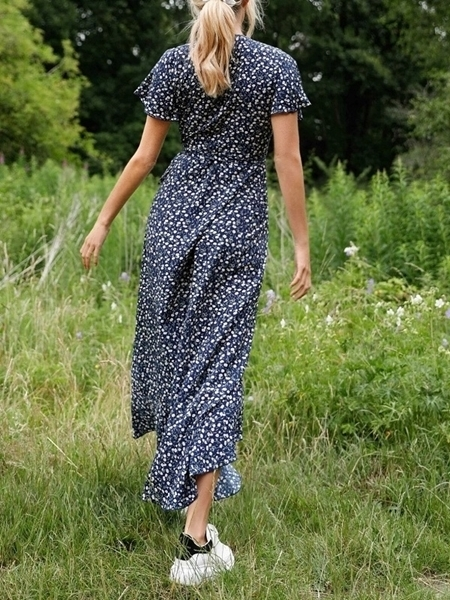 Floral Long Dresses Woman | Maxi Dresses for Woman