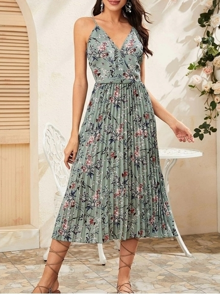 Summer Floral Dresses  For Woman Online