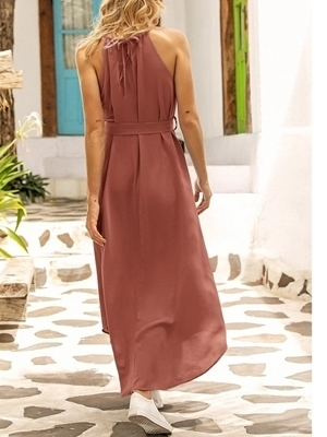 Summer Long Casual Dresses Woman | Maxi Dresses For Women