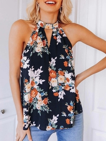 Summer Floral Tops |  Woman fashion Shopping Online