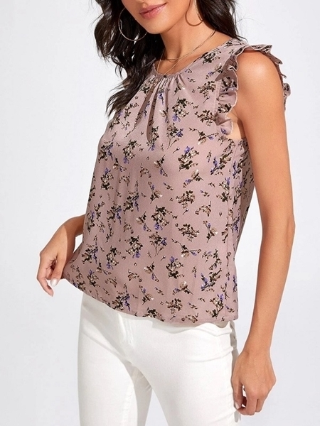 Woman clothing | Floral Blouses Tops Women