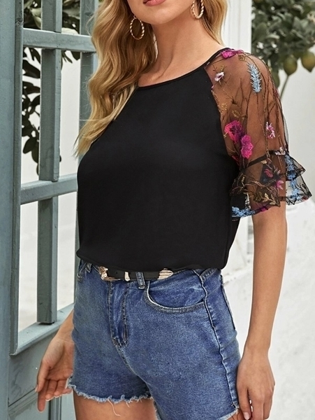 Woman clothing | Floral Tops Women