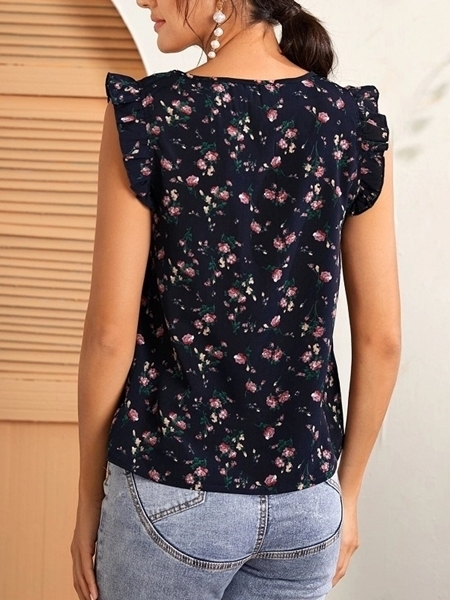 Woman clothing Online | Floral Blouses Tops Women