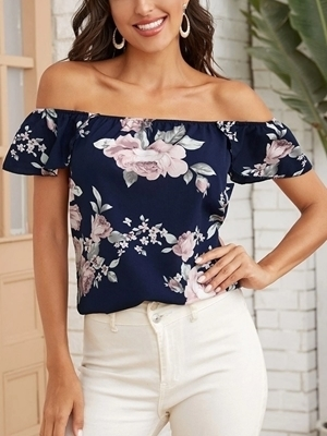 Woman clothing Online | Floral Blouses Tops Women Online
