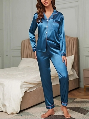 Satin Sleepwear Online | Satin Sleepwear Shop Woman